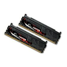 G.Skill Sniper 8GB 2X4GB Dual Channel DDR3 1600MHz PC3-12800 DIMM Desktop