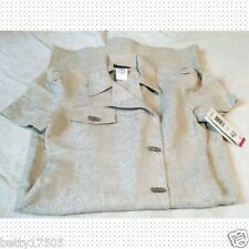 Positive Attitude tan linen suit dress, NWT, Women's 8,