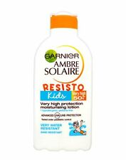 GARNIER AMBRE SOLAIRE RESISTO KIDS VERY HIGH SPF50+ PROTECTION LOTION - 200ML *