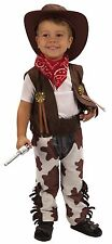 Cowboy, Toddler Boys Fancy Dress Costume Fiesta De Halloween Western 2-3 Años