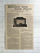 1937 The Phillips 785 Ax Radio Set Review