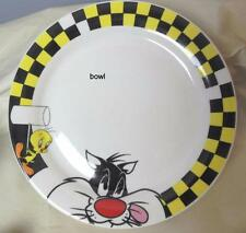 "Tweety Bird and Sylvester Soup Cereal Bowl 6.5"" Looney Tunes Gibson"