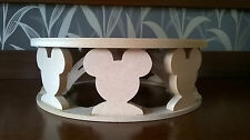 Circular cake stand- Mickey Mouse decoration -MDF- craft - Party, kids/children
