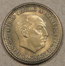Spain 1947(54) Peseta Unc