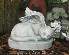 KITTY CAT ANGEL Garden Statue Grave Stone Marker PET MEMORIAL Durable Resin NEW!