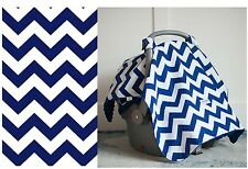 CARSEAT CANOPY ~ JAGGER ~Infant Car Seat Cover Cool Cotton + Soft Warm Minky NEW
