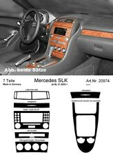 Prewoodec cabina di pilotaggio DECORI PER MERCEDES SLK 171 01.2004-02.2011 MADE IN GERMANY