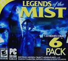 Legends Of The Mist 6 Pack hidden object PC Game Window 10 8 7 Vista XP Computer