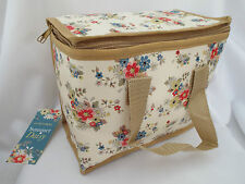 Vintage Style Floral Summer Daisy Insulated Lunch Picnic Bag