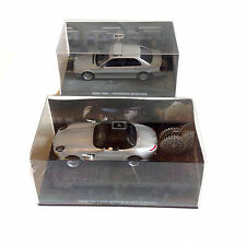 JAMES BOND 007 Movie Film Car Collection TOMMORROW NEVER DIES set of 2, NICE!