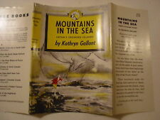 Mountains in the Sea, Japan's Crowded Islands, Kathryn Gallant, Dust Jacket Only