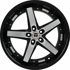 4 GWG WHEELS 20 inch Black Machined DRIFT Rims fits ET35 PONTIAC MONTANA 2000