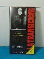 VHS VINTAGE - LA TRANSICIÓN ESPAÑOLA - 2 EL ESPIRITU DEL 12 DE FEBRERO