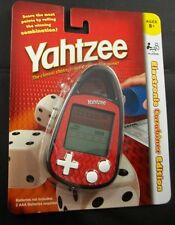 Yahtzee Electronic Carabiner Edition Hand Held Game Hasbro Mini Car Travel