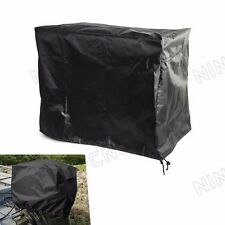 Waterproof Vented Outboard Motor Boat Engine Cover 2 - 5 Hp Black