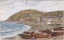 Artist Drawn, The Beach, ABERYSTWYTH, Cardiganshire - A. R. Quinton