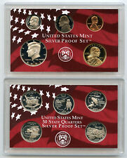 2002 United States Silver Proof Coin Set - U.S. Mint Original - PST
