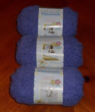 Bernat Pipsqueak Yarn Lot Of 3 Skeins (Grape #59332)