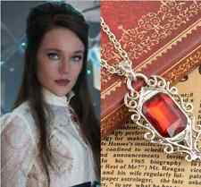 Lightwood's Ruby Retro The Mortal Instruments City of Bones Isabelle Necklace ne