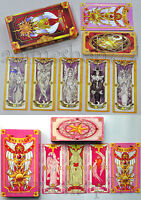 Two Sets 52 + 56 Card Captor Sakura Clow Cards Hope Cosplay Free Shipping New