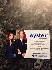 ROYAL WEDDING OYSTER CARD LIMITED EDITION