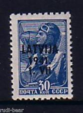 Deutsche Besetzung Lettland Nr.  5 ** Aufdruck auf UDSSR