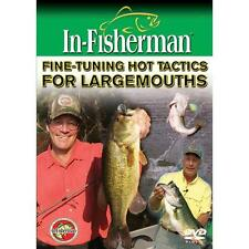 NEW Fine-Tuning Hot Tactics for Largemouth Bass Fishing DVD Video
