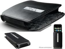 Belkin Slim Leather Holster Case w/Belt Clip for iPhone 4S & iPhone 3G S (Black)