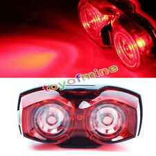 Hot Bright Bike Bicycle Cycling 2 LEDs Safety Back Rear Tail Flashing Lamp Light