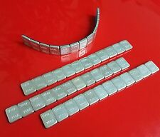48 pcs 1/4oz stick on wheel weight balance 4 strips total of 12 ounces
