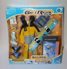 Get Real Girl Skylar's Snowboarding Adventure Action Figure Doll RARE 1999