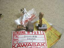 KAWASAKI NOS STARTER CARBON BRUSH ( 2) JS400 JS440   21088-510