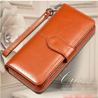New Fashion Lady Women Leather Wallet Long Card Holder Case Clutch Purse Handbag