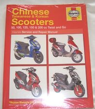 Haynes Workshop Manual Chinese & Taiwanese Scooters eg Jinlun CKR Keeway Kinroad