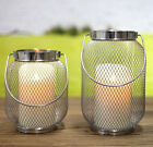 Candle Holders Mesh Metal Home Decor Gift NEW Two Sizes Available