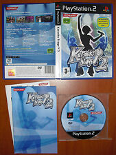 Karaoke Stage 2 KONAMI PlayStation 2 PS2 PStwo Pal-España COMPLETO Y RARO DE VER