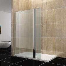 70cm Duschwand/walk in Dusche 8mm Sicherheitsglas mit Schwenktür für Badezimmer