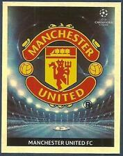 PANINI UEFA CHAMPIONS LEAGUE 2009-10- #073-MANCHESTER UNITED TEAM BADGE-FOIL