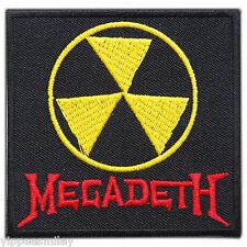 MEGADETH Logo Sew Embroidered Iron-On Patches Jacket Vest T Shirt Cap Hat #M0063