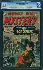 JOURNEY INTO MYSTERY #78 CGC 3.5 Doctor Strange Prototype! Pre-Strange tales 110