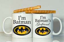 Batman mug-Super hero mugs-Valentine's day mugs-Boyfriend gift-Girlfriend gift