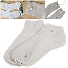 New 1 Pair Electrode Conductive Physiotherapy Massage Socks Skin Care Socks J6M5