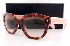 Brand New Prada Sunglasses 12SS UE0 4K0 Havana/Pink/Gradient Grey for Women