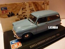 Voiture 1/43 IXO altaya SIMCA aronde chatelaine break 1961