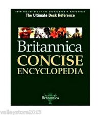 NEW Authentic Britannica Concise Encyclopedia Hardcover Ultimate reference