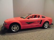 FORD MUSTANG GT NEW BRIGHT REMOTE CONTROL RC CAR HUGE 1/6 1/5 MODEL TOY RED RARE