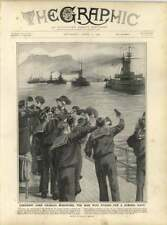 1909 Cheering Lord Beresford, The Man Who Stands For Strong Navy