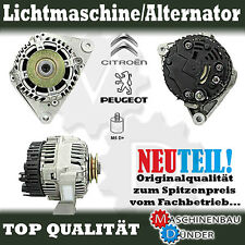 CITROEN BERLINGO BX C15 ZX PEUGEOT 106 LICHTMASCHINE ALTERNATOR NEW NEU !