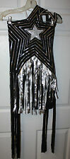 Womens Teens Girls Halloween Fantasy Roaring 20's Dress-Up Flapper Costume XS