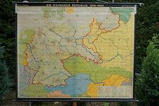 Schulwandkarte Wandkarte Schulkarte Deutschland Weimarer Republik 18-33 240x193c